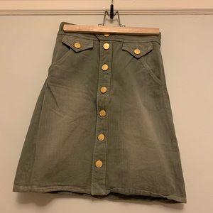 Isabel Marant jean skirt